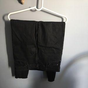 Black skinny joe jeans